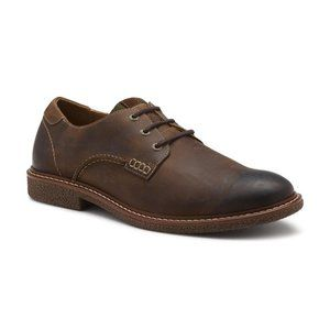 BASS Brewer Men's Brown Leather Oxford Shoes 8.5